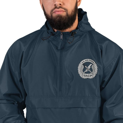 opszillastore,USAF Tactical Air Control Party (TACP) Embroidered Champion Packable Jacket,
