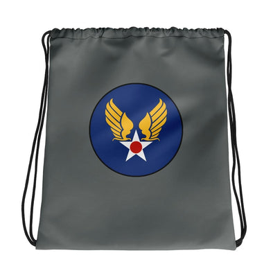 opszillastore,Vintage United States Air Force Emblem (USAF) Drawstring bag,