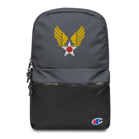 opszillastore,Vintage United States Air Force Emblem (USAF) Embroidered Champion Backpack,