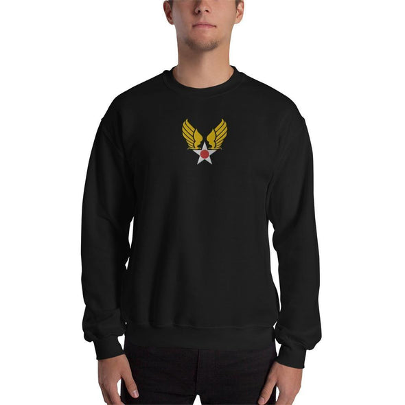 opszillastore,Vintage United States Air Force Emblem (USAF) Embroidered Unisex Sweatshirt,