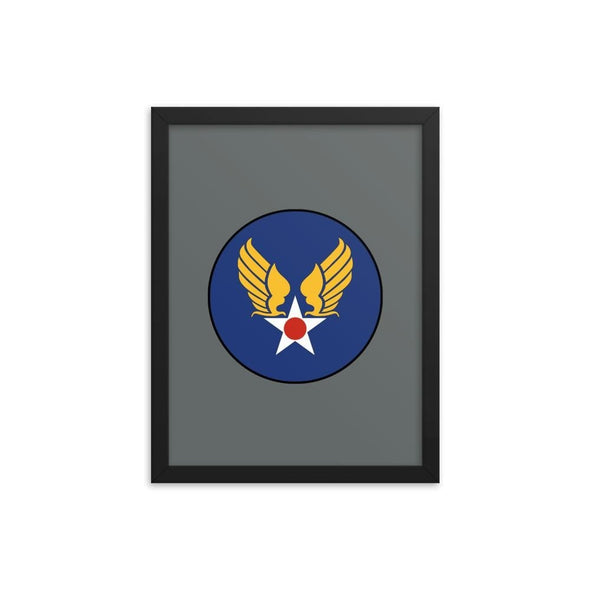 opszillastore,Vintage United States Air Force Emblem (USAF) Framed poster,