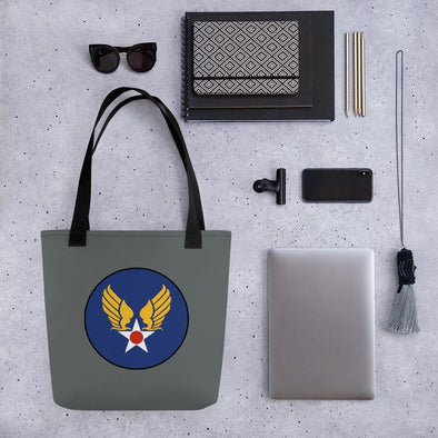opszillastore,Vintage United States Air Force Emblem (USAF) Tote bag,