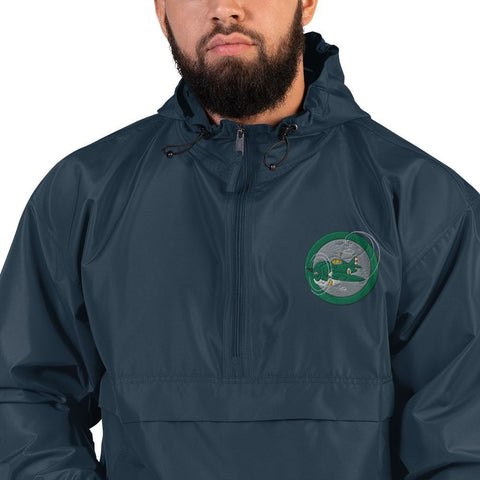 opszillastore,War Plane Roundel Embroidered Champion Packable Jacket,