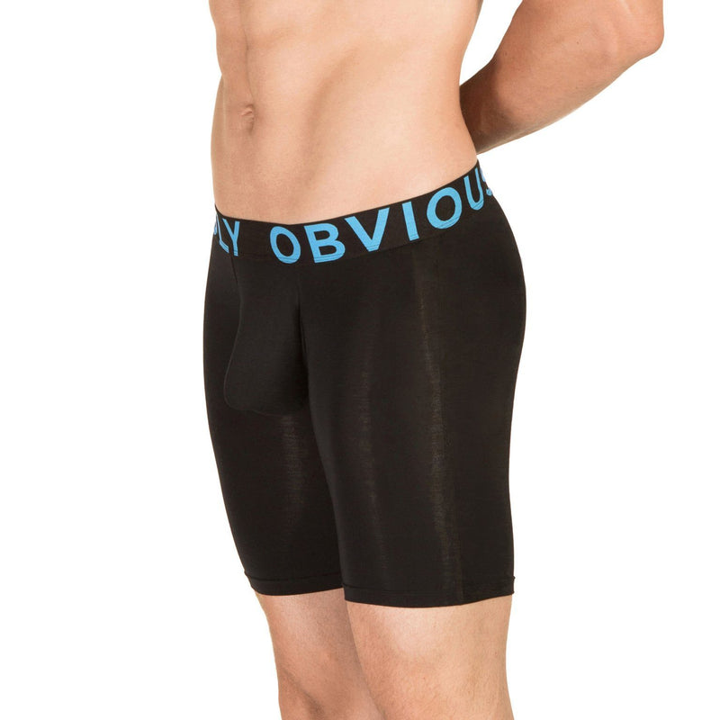 EveryMan - Boxer Brief 9 inch Leg Obviously Apparel Black Small