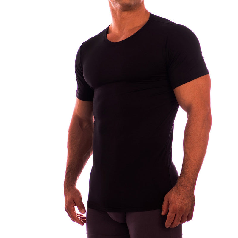 Crew Neck Short Sleeve Undershirt