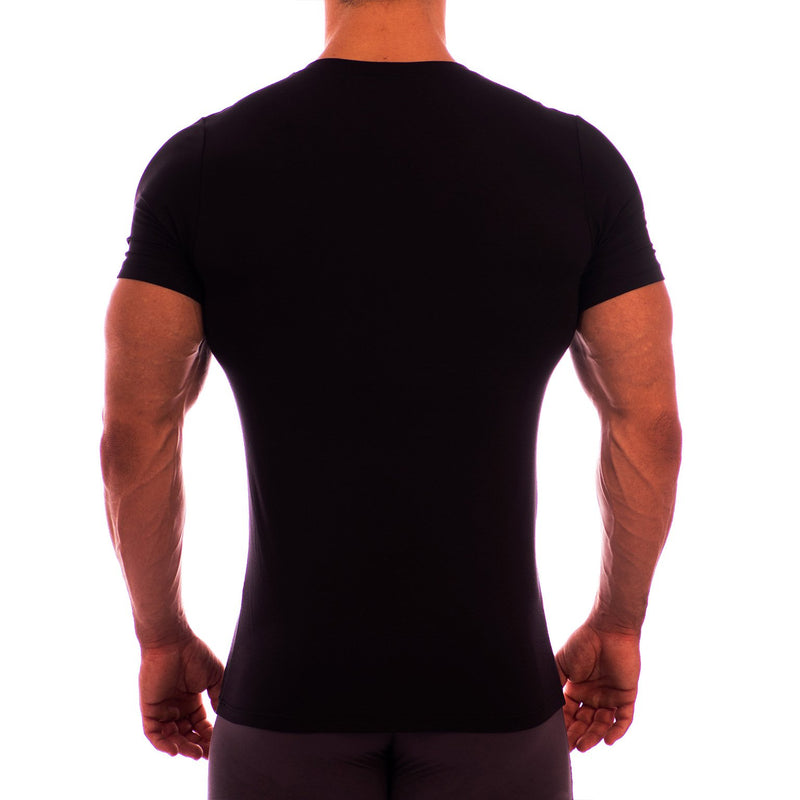 V Neck Short Sleeve Undershirt