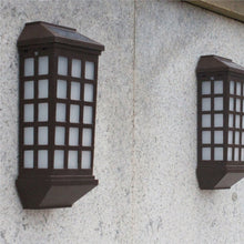 Load image into Gallery viewer, Outdoor Wall Mounted LED Solar Lights Long Window