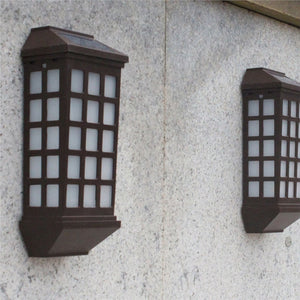 Outdoor Wall Mounted LED Solar Lights Long Window