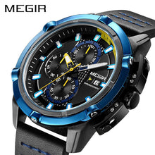Load image into Gallery viewer, MEGIR Men Quartz Sport Watch