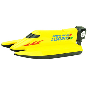 Children's Toy Magic Racing Boat 2.4G Remote-controll Water Racing Boat