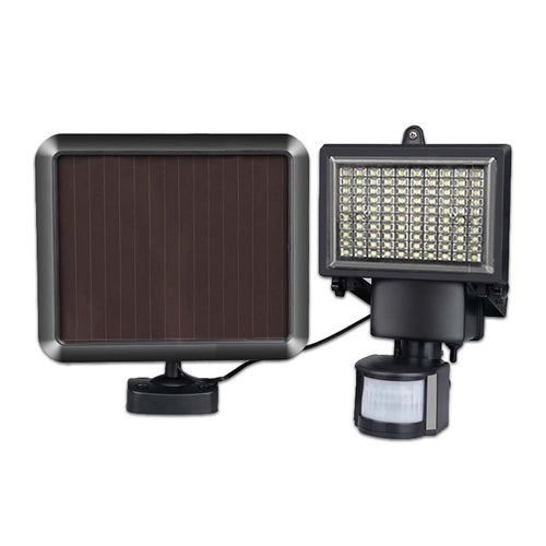 100 LED Infrared Ray Solar Lights Outdoor Solar Powered Motion Sensor Security Floodlights