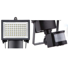 Load image into Gallery viewer, 100 LED Infrared Ray Solar Lights Outdoor Solar Powered Motion Sensor Security Floodlights