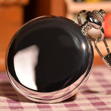 Load image into Gallery viewer, Elegant Silver Pocket Watch