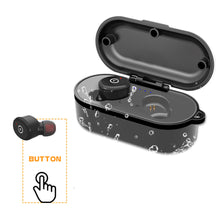 Load image into Gallery viewer, Wireless Stereo Headphones TWS Bluetooth Headphones In-Ear Earbuds with Charging Case (Black)
