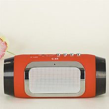 Load image into Gallery viewer, Mini Portable Wireless Bluetooth Stereo FM Radio