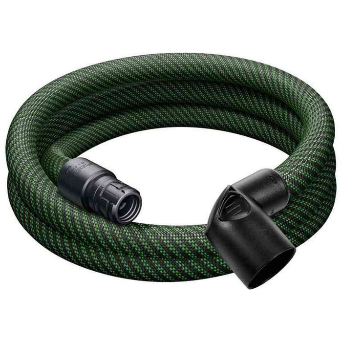 Festool 201665 Tapered Braided Sleeve Antistatic Hose, 27mm X 3m For CT SYS