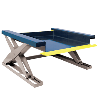 Southworth Floor Height Lift Table / Floor Level Lift Tables
