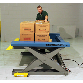 Floor Height Lift Table / Floor Level Lift Tables