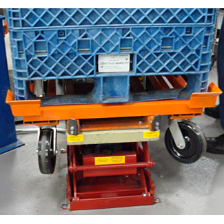Cart & Dolly Positioner