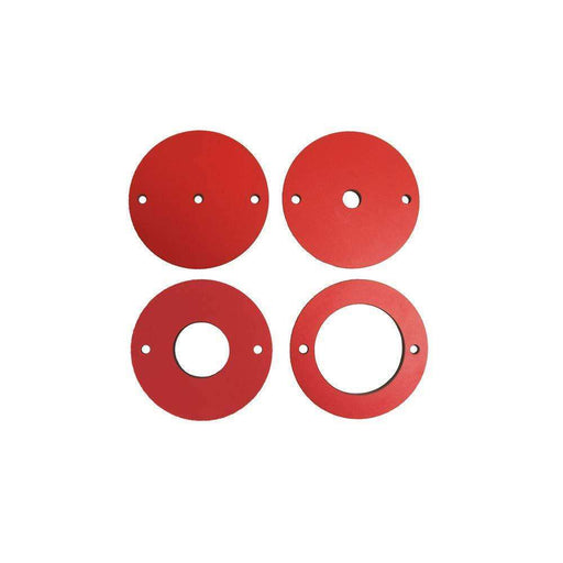 SawStop 4 pc. Phenolic Insert Ring Set for Router Lift - Part Number RT-PIR