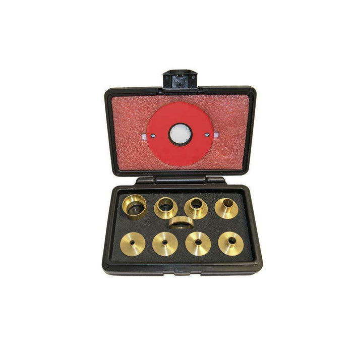 SawStop 9 pc. Brass Precision Template Guide Set - Part Number RT-TGS