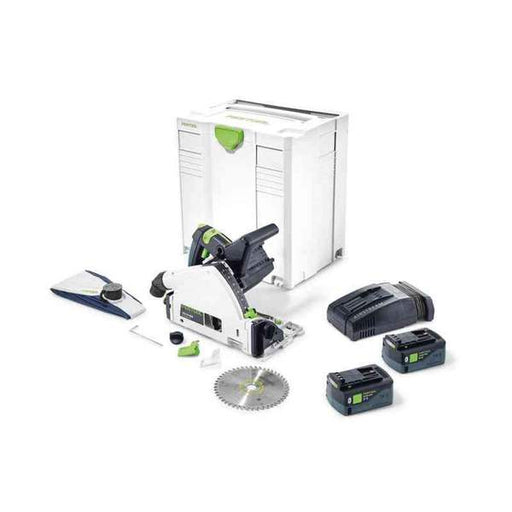 Festool TSC 55 Cordless AirStream Bluetooth 5.2Ah Track Saw
