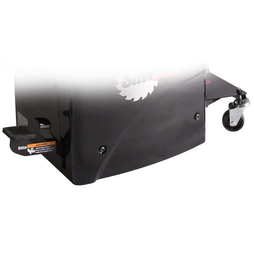 SawStop Professional Cabinet Saw Integrated Mobile Base - Part Number MB-PCS-000