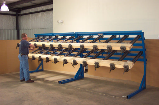 JLT #79F-16-PC – 16′ Rail & Post Custom Clamping System