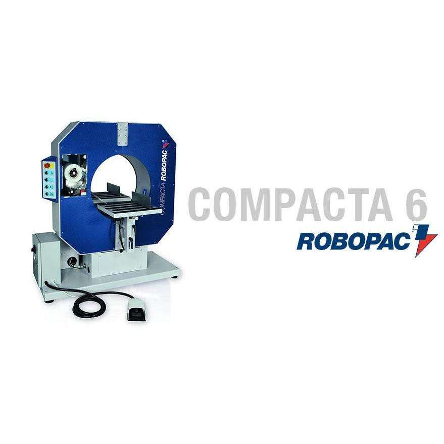 Robopac Compacta 6 Semi-Automatic Stretch Wrapper