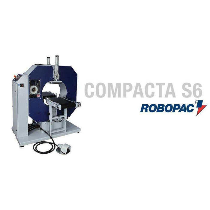 Compacta S6 Semi-Automatic Stretch Wrapper
