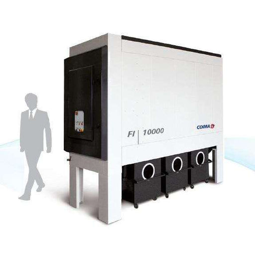FI-10000 with Roll-Away Bins