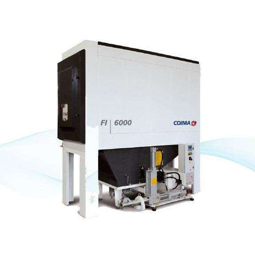 FI, 6000 Dust Collector with Briquette Press