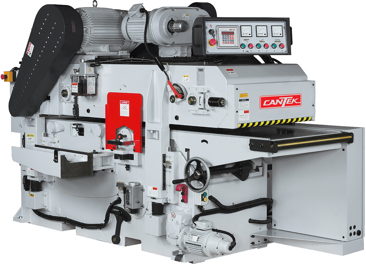 "Cantek  24"" Heavy Duty Cardan Shaft Drive Double Sided Planer -  Model GT610HI 5% off Promo good thru 9/18/2020"