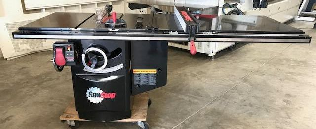 Used SawStop Industrial Cabinet Saw