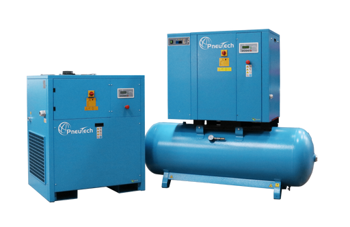 PneuTech RK Fixed Speed Rotary Screw Air Compressors 5-50 HP