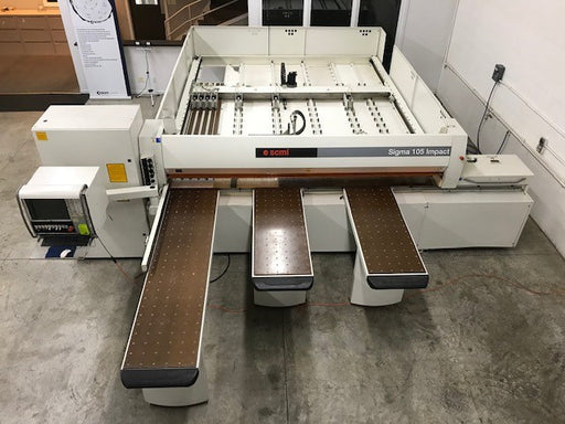 Used 2004 SCM Sigma Impact 105 C Panel Saw 3200 mm,