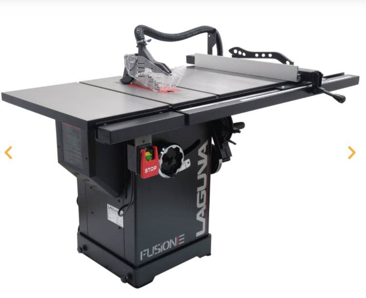 SOLD OUT Laguna F3 Fusion Table Saw (NEW)