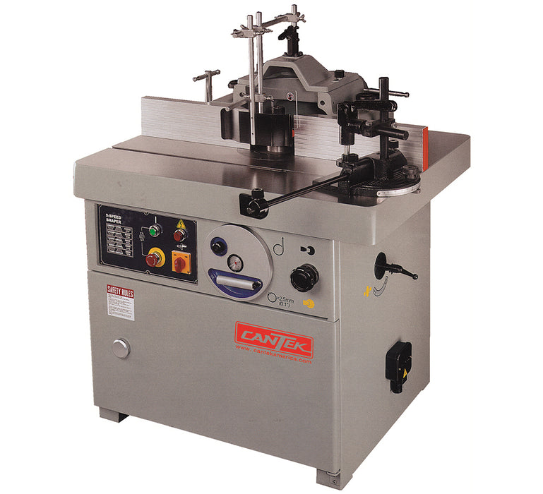 CANTEK SS-512CB Spindle Shaper, 5 speeds, 7.5HP 3PH (INCLUDES FREIGHT)