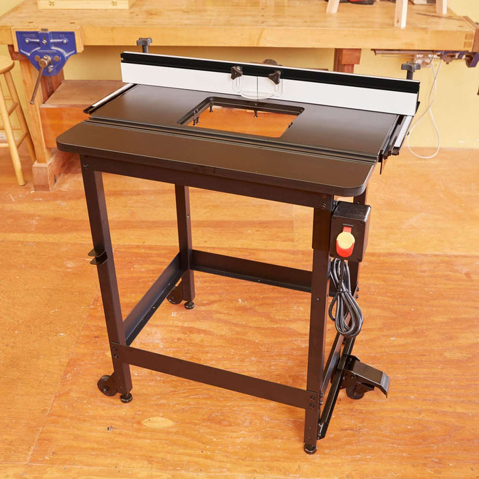 SawStop Standalone Phenolic Router Table - Part Number RT-PHFS