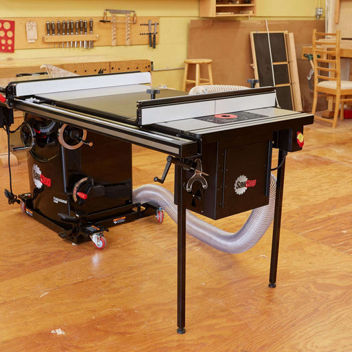 "SawStop 27"" In-Line Cast Iron Router Table for PCS & CNS - Part Number RT-TGP"