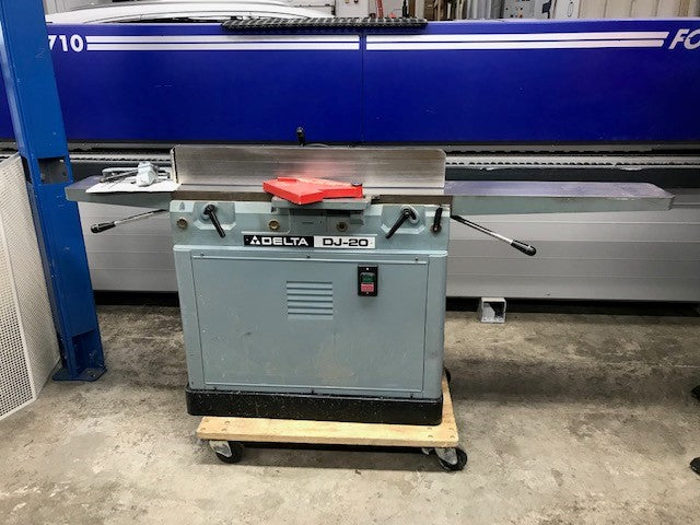 "SOLD Used Delta DJ20, 8"" Jointer"