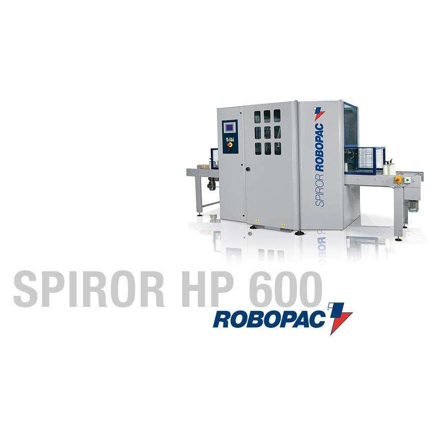 Spiror HP DR 600 Semi-Automatic Stretch Wrapper