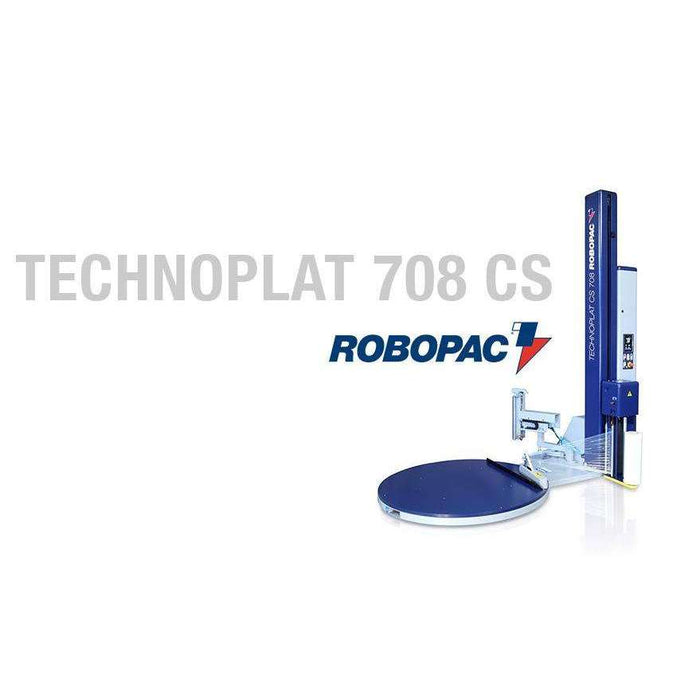 Robopac Technoplat 708 CS Semi-Automatic Stretch Wrapper