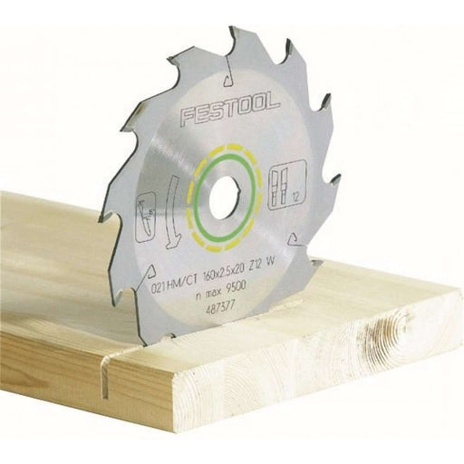 Festool 486296 Saw Blade For AT 65 Track Saw, Standard 16-Tooth
