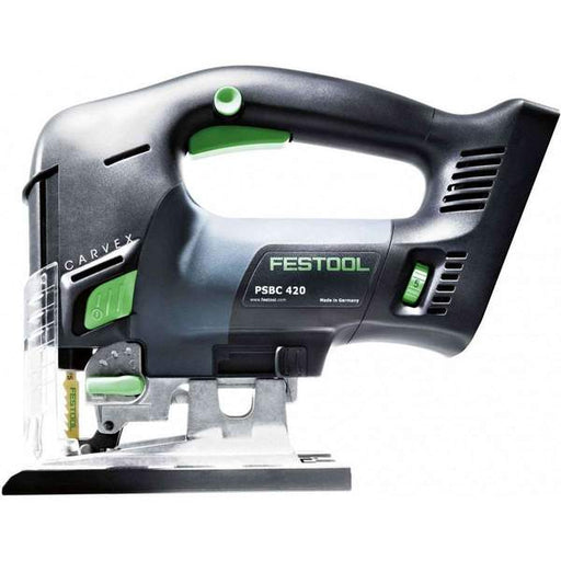 Festool Cordless Carvex PSBC 420 EB AirStream Bluetooth 5.2Ah Jigsaw