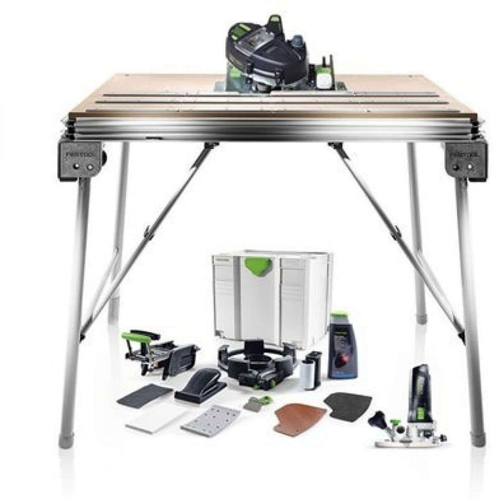 Festool Conturo Edge Banding Complete Set - Includes Conturo Set, MFT/3 Conturo Work Table & MFK 700 Conturo Router