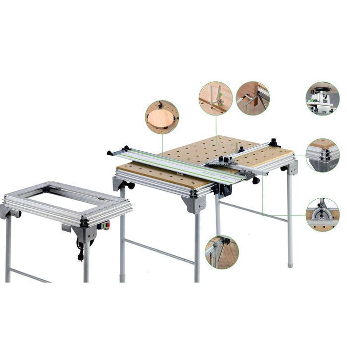 Multifunction table MFT/3