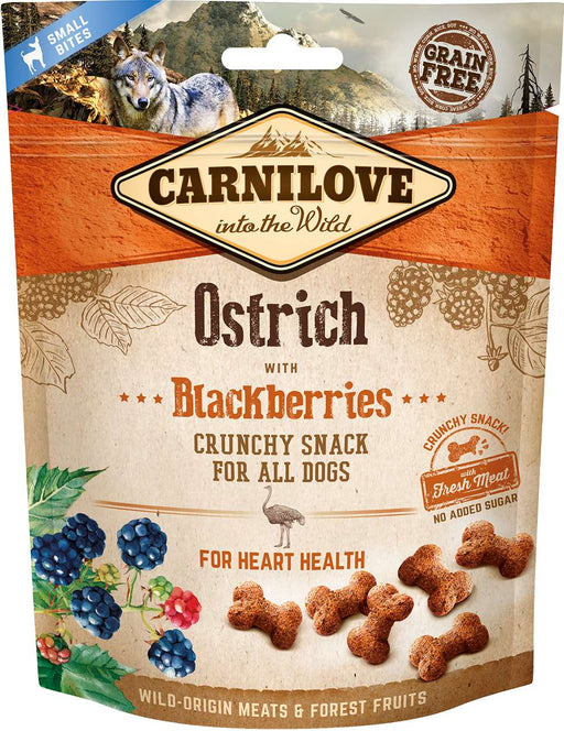 Crunchy snack Ostrich & Blackberries