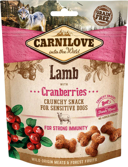 Crunchy snack Lamb & Cranberries
