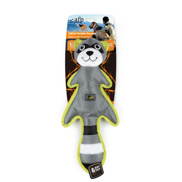 Outdoor Dog Ballistic Rumbler Raccoon
